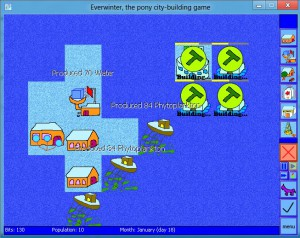 This level is based mostly on the sea. The player is constructing three cloudhouses for pegasi.